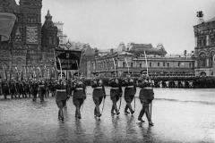 Парад Победы на Красной площади в Москве